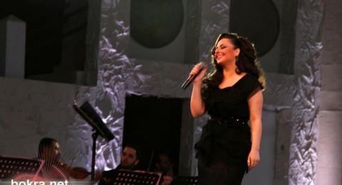 ديانا كرزون ونجاح كبير في حفلها في الدوحة