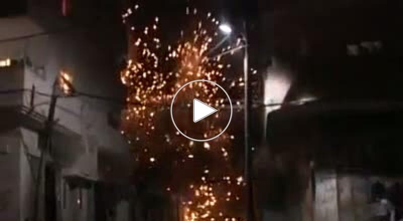 استهداف بيت سكني في الحرب على غزة