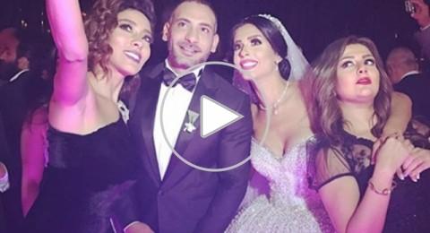شاهدوا كيف كان زفاف ساندي التونسية