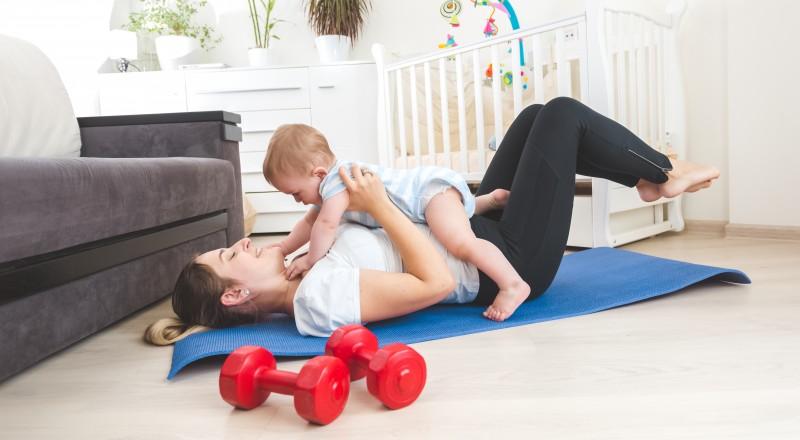 متى وكيف أستطيع ممارسة الرياضة بعد الولادة القيصرية؟