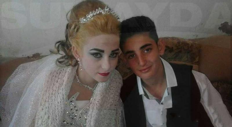 حفل زفاف أصغر عروسين في سورية يثير الجدل!
