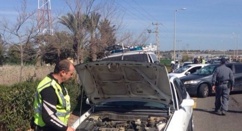 في قرى الجلبواع اليوم: الشرطة تصادر 28 مركبة وتحرر 50 مخالفة!