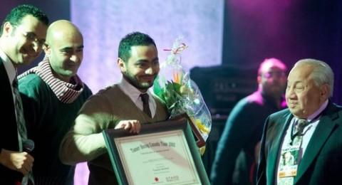 انتهاء تامر حسني من جولته الغنائية العالمية ويتسلم شهادة تقدير