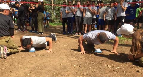 مدرسة أورط على اسم حلمي الشافعي عكا في المسابقة القطرية للياقة البدنية