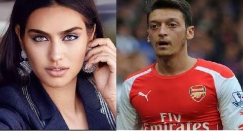 ملكة جمال تركيا توقع اللاعب الألمانيّ مسعود أوزيل في غرامها