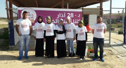 اجيك معهد النقب: يوم الاعمال الخيرية في القرى غير  المعترف بها