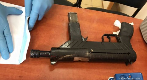 الطيبة: ضبط سلاح واعتقال 4 مشتبهين