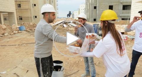 سلامة العامل في ورشات البناء لها حصة في فعاليات يوم الاعمال الخيرية