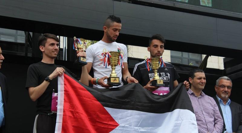 انطلاق ماراثون فلسطين الدولي الخامس في بيت لحم