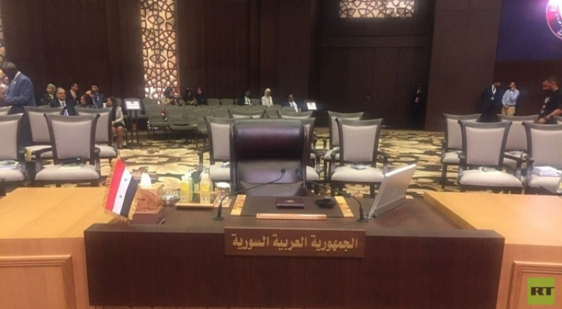 القمة العربية في الأردن، غابت دمشق وحضر علم سوريا