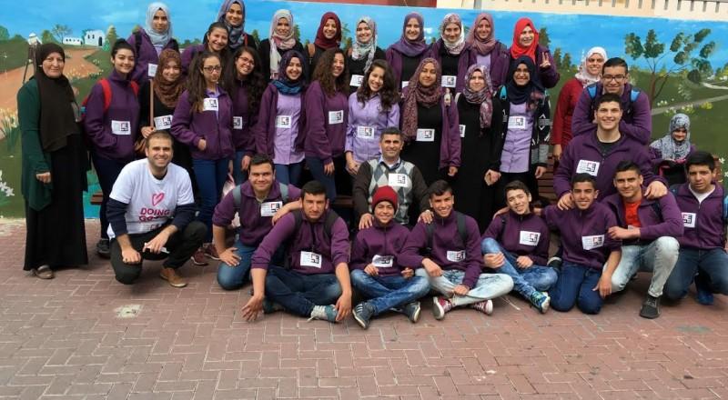جمعية سند تنسق يوم الاعمال الخيرية في جت المثلث