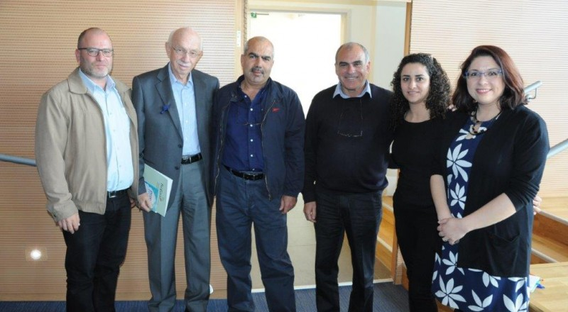 مدير عام وزارة العمل يقوم بجولة في الناصرة للاطلاع على عمل مركز ريان ومؤسّسة تسوفن