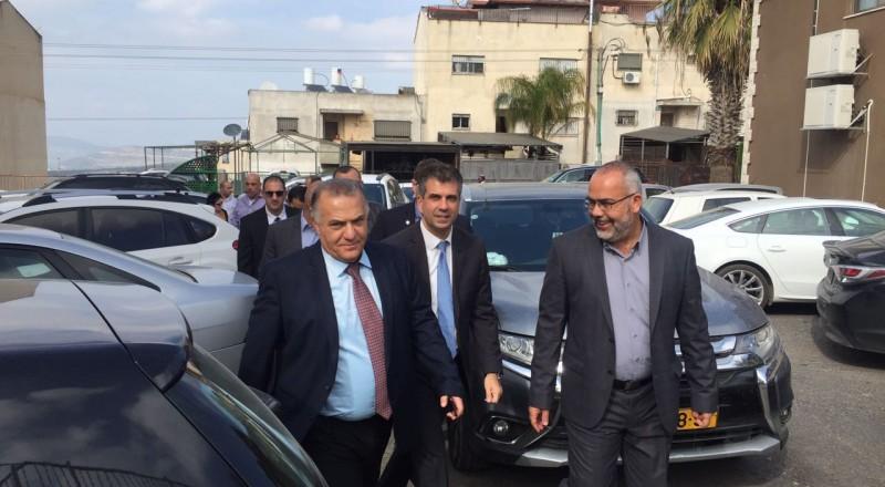 السعدي يطالب وزير الاقتصاد بخطة خمسيّة بقرار حكومي قابل للتنفيذ لدعم وإنشاء مناطق صناعية في البلدات العربية