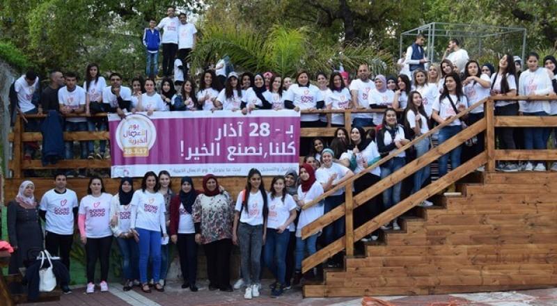 احتفال شعبي في ثانوية عيلوط بمناسبة يوم الاعمال الخيرية