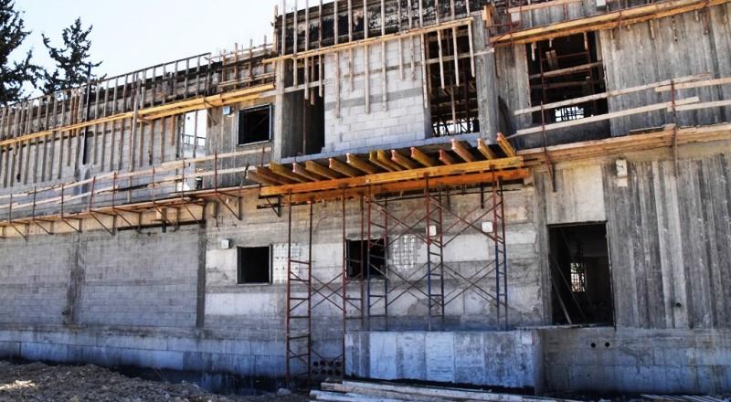 مبنى بلدية الناصرة الجديد في تقدم مستمر