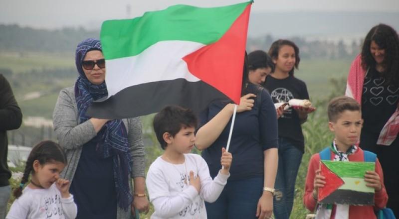 وادي عارة: احياء يوم الارض بمسيرة لاراضي الروحة