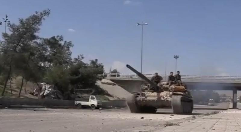 الجيش السوري يستعيد قريتين في ريف حماة