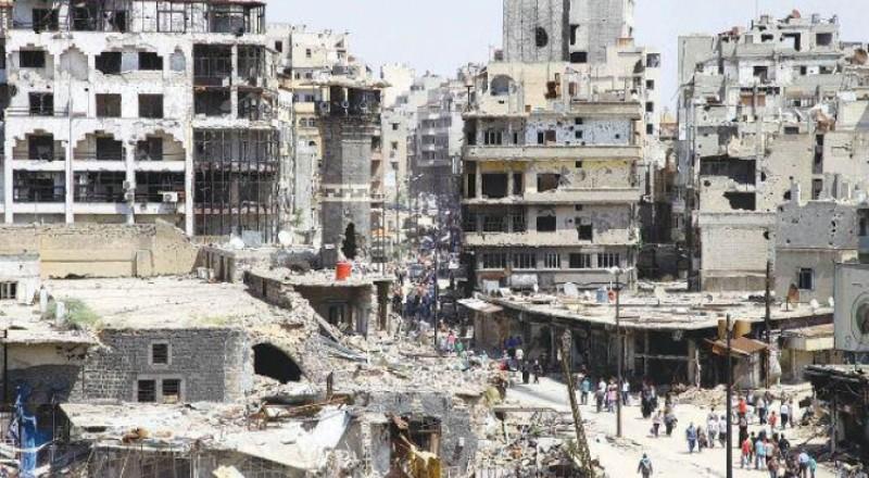 الدفعة الثالثة من مسلحي حي الوعر تغادر مدينة حمص السورية