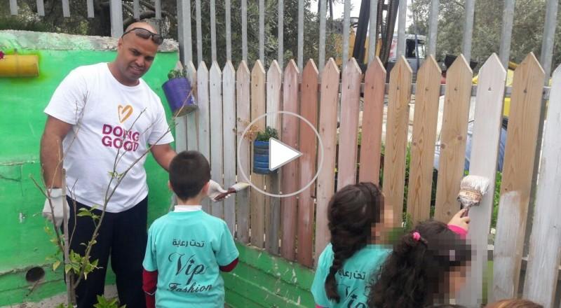 بدء فعاليات يوم الاعمال الخيرية في الناصرة