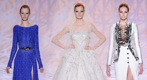 زفافكِ قريب؟ استوحي اطلالتكِ كالنجمات من تصاميم زهير مراد