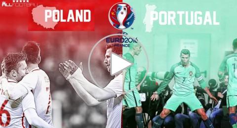 الليلة في يورو 2016: رونالدو والبرتغال في مواجهة صلابة الدفاع البولندي