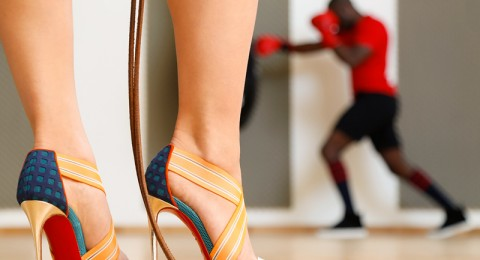 أحذية كريستيان لوبوتان خريف وشتاء 2015 تستحضر أناقة الستينات