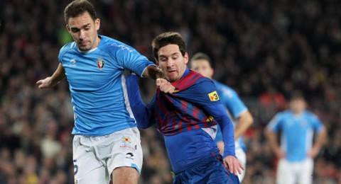 برشلونة ينهي المباراة بفوز صعب مع اوساسونا