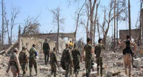 الجيش السوري يسحق