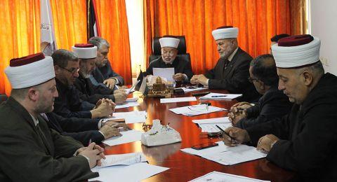 مجلس الإفتاء الأعلى: المسجد الأقصى المبارك أسمى من الخضوع لإجراءات الاحتلال وقرارات محاكمه