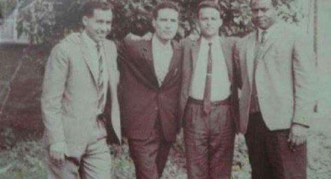 صورة نادرة تجمع العقيد معمر القذافي وعبد ربه منصور هادي في بريطانيا