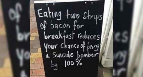 مطعم في كندا يعتذر من المسلمين.. والسبب صورة