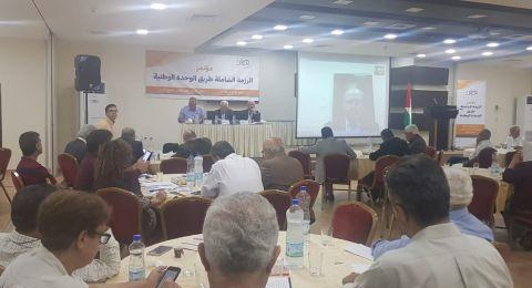بركة في رام الله: من يرى بالانقسام مصلحته فهو يخون القضية الفلسطينية