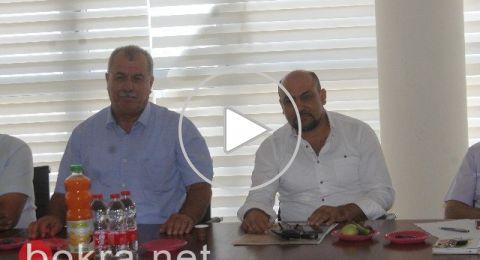 بركة وغنايم يؤكدان: هنالك علاقة بين قانون القومية والاعتداءات على العرب