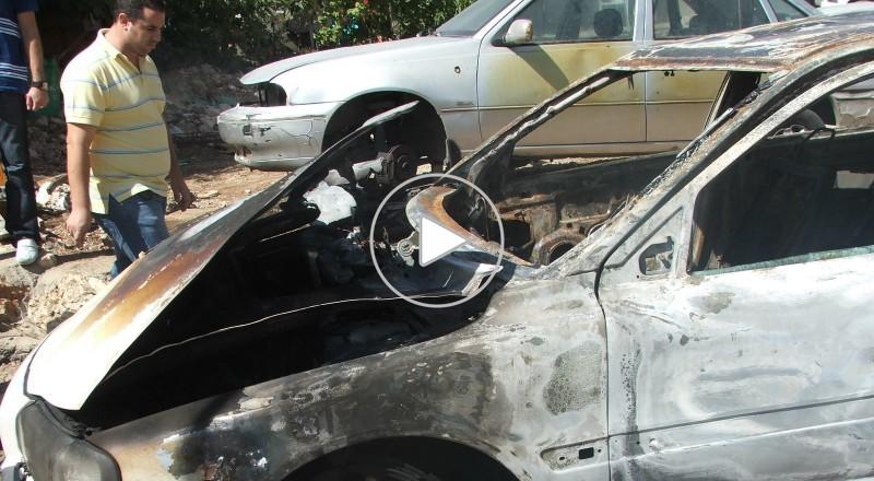 إحراق سيارة