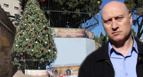 الناصرة تستعد لإضاءة شجرة الميلاد