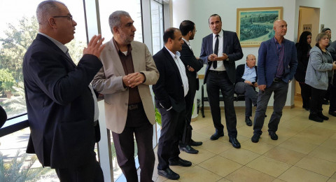 محكمة الصلح في الكريوت تعقد جلستها للنظر في ملف مقبرة القسام – قضاء حيفا