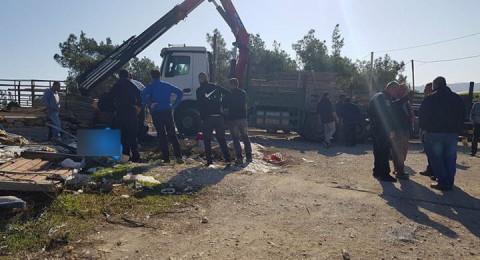 ام الفحم: مصرع محمود ملاحة اثر سقوط ألواح خشبية