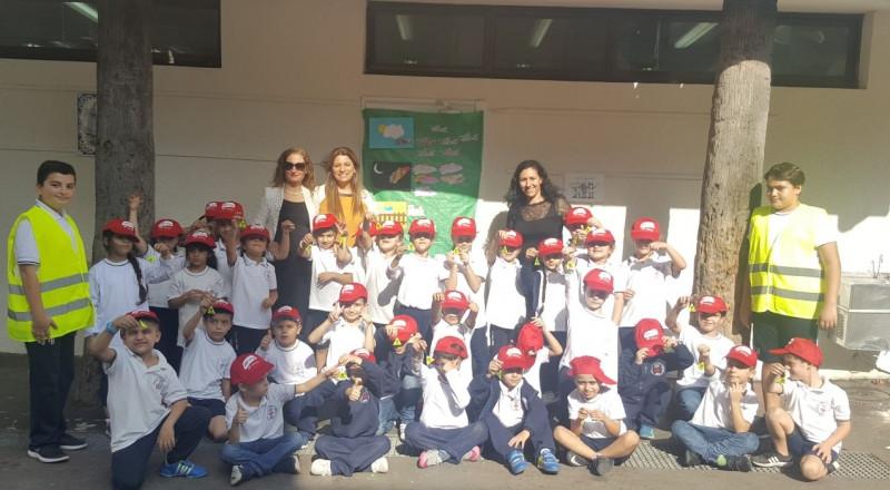 أسبوع الحذر على الطّرق في المدرسة الايطاليّة حيفا