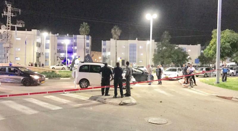 عكا: إصابة متوسطة لشاب يهودي جراء اطلاق نار