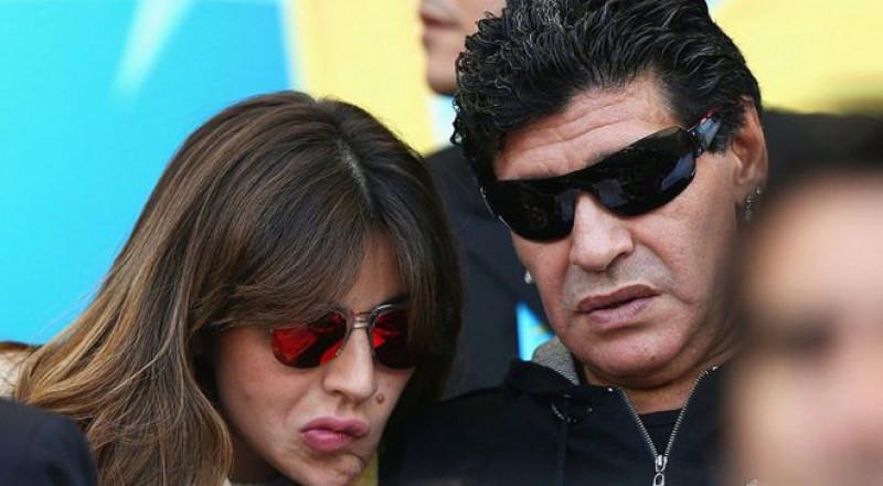 مارادونا يرفع دعوة على عائلته ويطالب بسجن ابنته