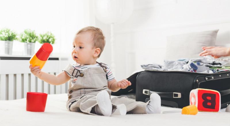 هل يمكن سفر الطفل الرضيع بالطائرة؟