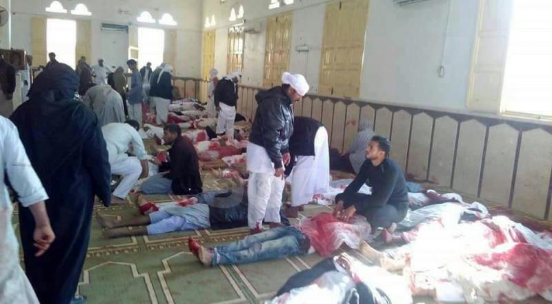 تركيا تعلن الحداد على ضحايا مجزرة العريش في مصر