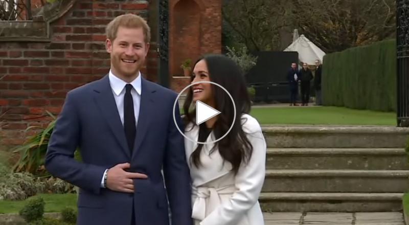 الأمير هاري يعلن خطوبته على ميغان ماركل