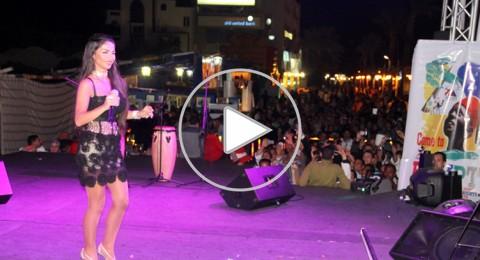 دوللي شاهين تحيي حفل مهرجان السياحة في الغردقة