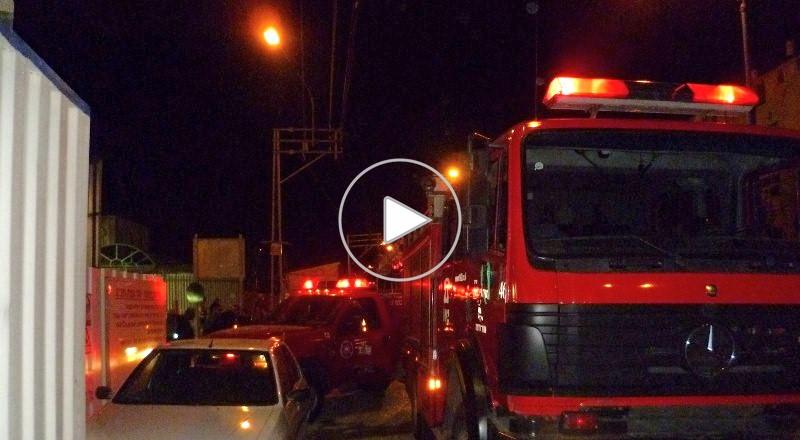 حيفا: إنقاذ عيلوطي من السقوط من رافعة