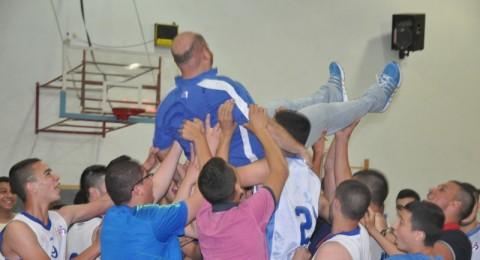 إنجاز كبير : اشبال باقة بكرة السلة يحصدون بطولة الدوري ويصعدون للدرجة القطرية