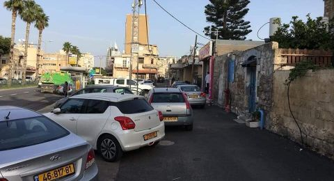 حيفا: مواطنون يتذمرون من ازمة شارع عصفور