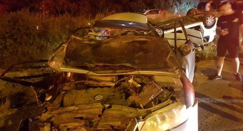 مصرع شاب وإصابة آخرين بحادث مروع قرب الشيخ دنون