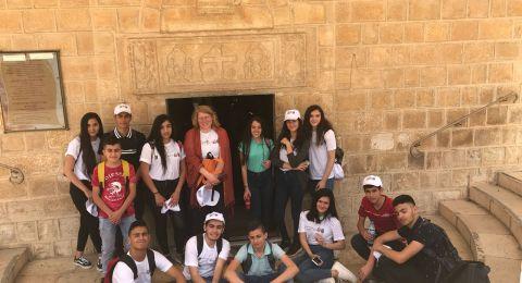 اعدادية الحلان- سخنين،ومطران الناصرة وتيخونت تل ابيب ضمن مشروع Tec4schools