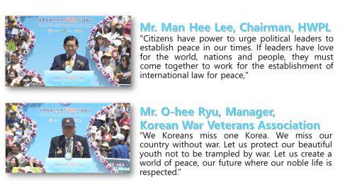 مواطنون ينفّذون حملات عالمية لنشر السلام ويطالبون بسن قانون دولي له